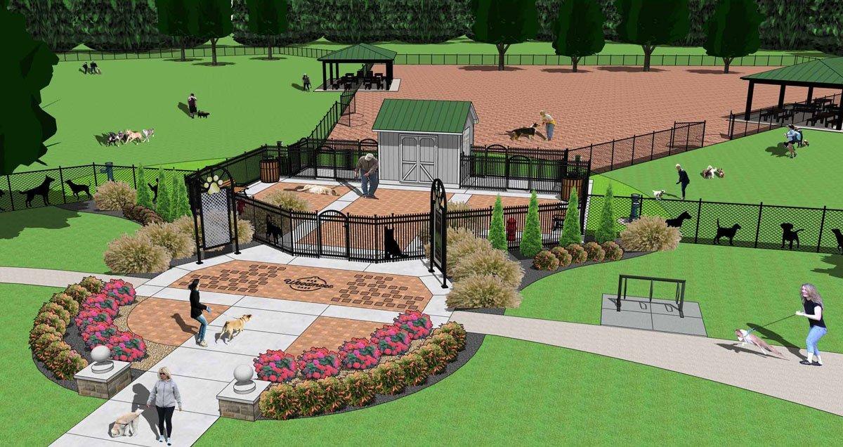 Woodmere Dog Park Proposed Entrance